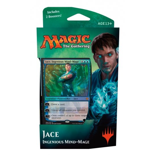 Magic: The Gathering Ixalan Planeswalker Deck - Jace