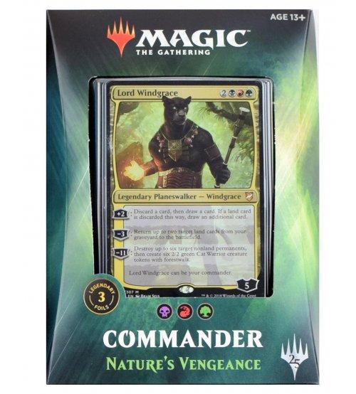Magic: The Gathering Commander 2018 - Nature's Vengeance