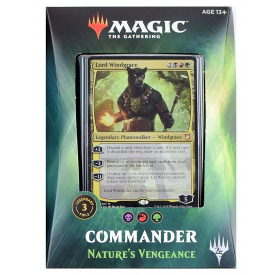 Magic: The Gathering Commander 2018 - Nature's Vengeance