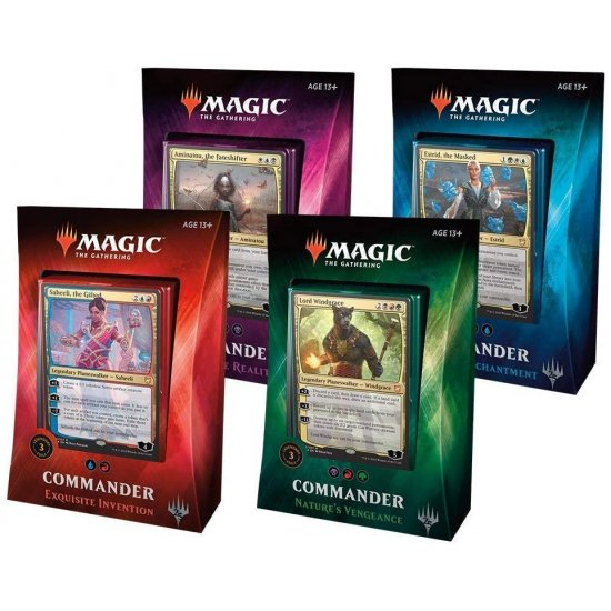 Magic: The Gathering Commander 2018 - 4-Deck Set
