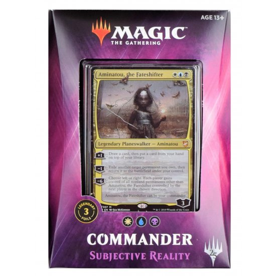 Magic: The Gathering Commander 2018 - Subjective Reality