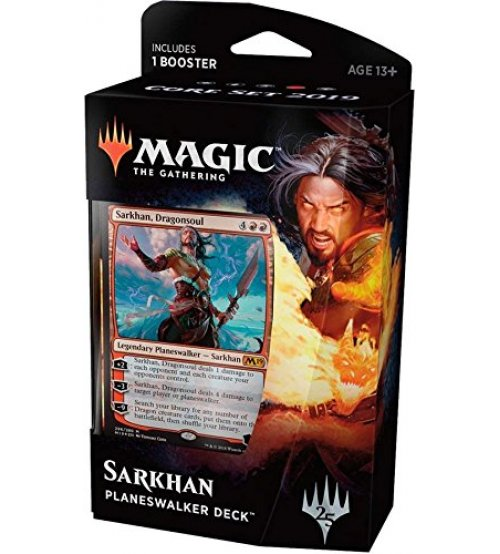 Magic: The Gathering 2019 Core Set Planeswalker Deck - Sarkhan