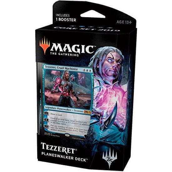 Magic: The Gathering 2019 Core Set Planeswalker Deck - Tezzeret