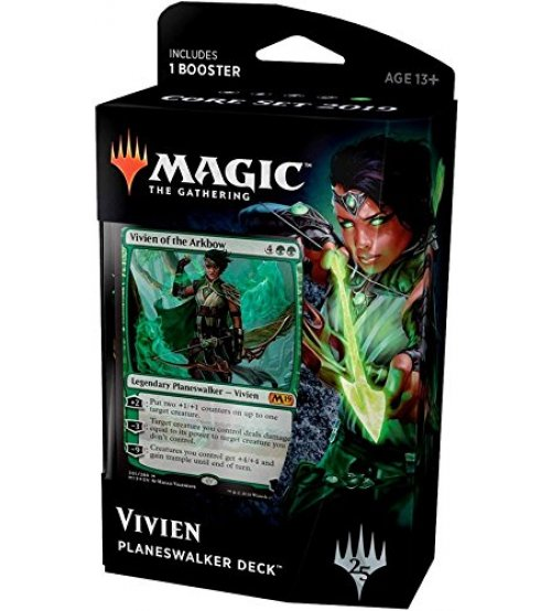 Magic: The Gathering 2019 Core Set Planeswalker Deck - Vivien