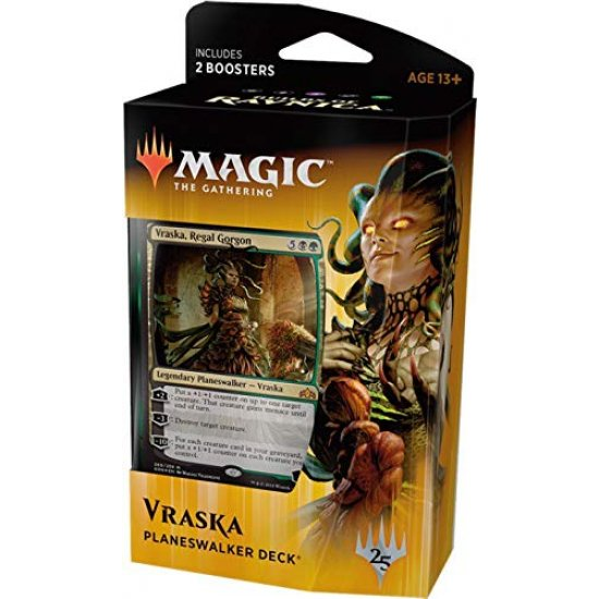 Magic: The Gathering Guilds of Ravnica Planeswalker Deck - Vraska