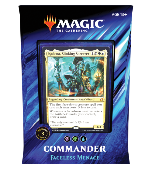 Magic: The Gathering Commander 2019 - Faceless Menace