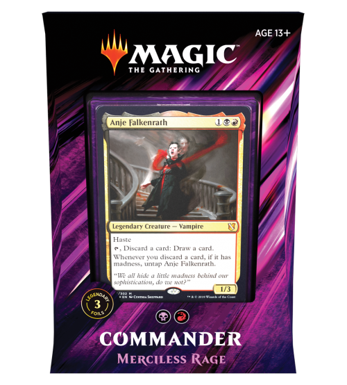Magic: The Gathering Commander 2019 - Merciless Rage