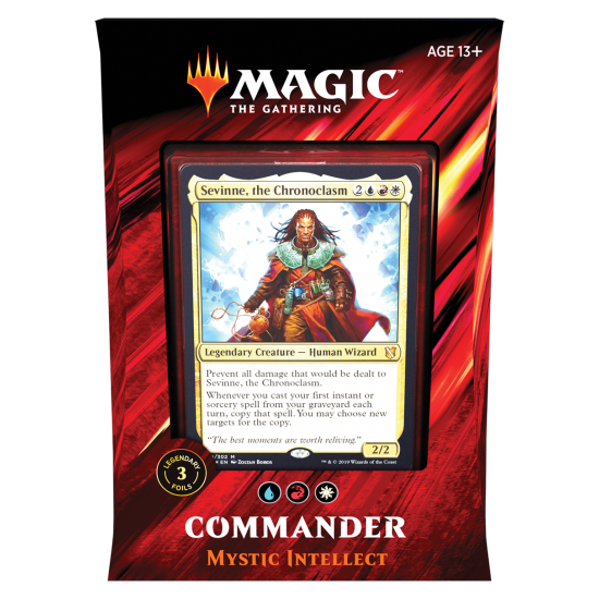 Magic: The Gathering Commander 2019 - Mystic Intellect
