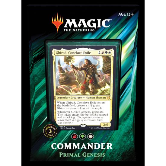 Magic: The Gathering Commander 2019 - Primal Genesis