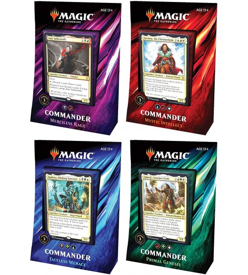 Magic: The Gathering Commander 2019 - 4-Deck Set