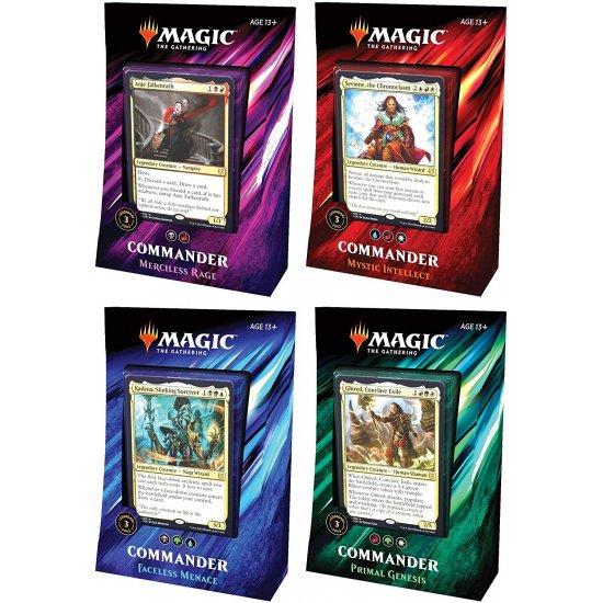 Magic: The Gathering Commander 2019 - 4-Deck Set