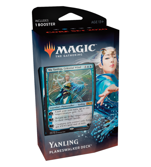 Magic: The Gathering 2020 Core Set Planeswalker Deck - Yanling