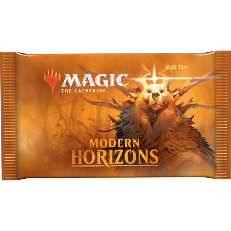 magic the gathering modern horizons 15card booster pack
