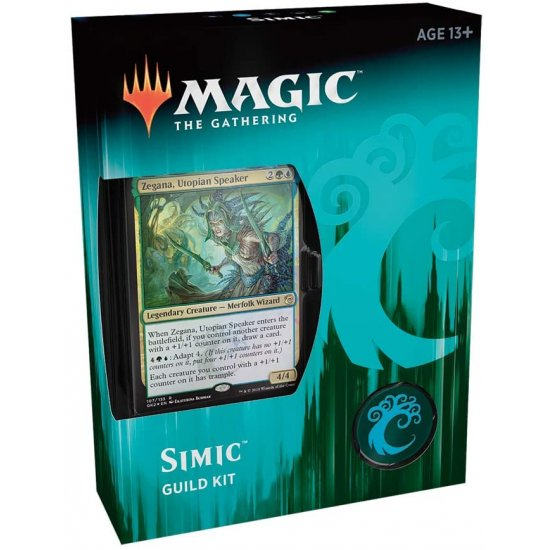 Magic: The Gathering Ravnica Allegiance Guild Kit - Simic