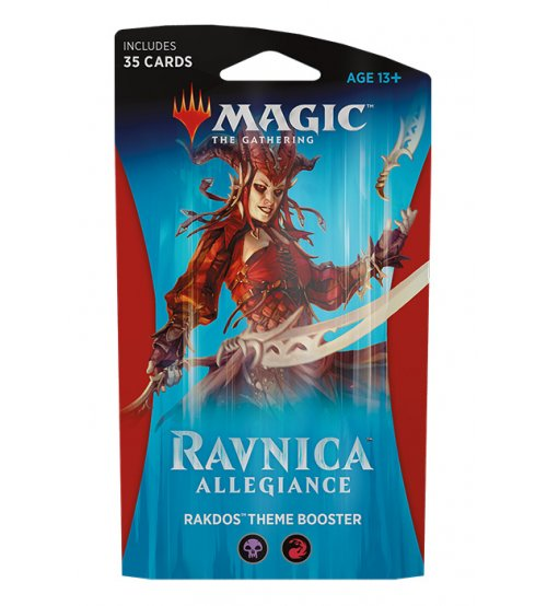 Magic: The Gathering Ravnica Allegiance Guild Kit - Rakdos