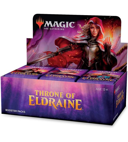 Magic: The Gathering Throne of Eldraine Booster Box, 36/Pack