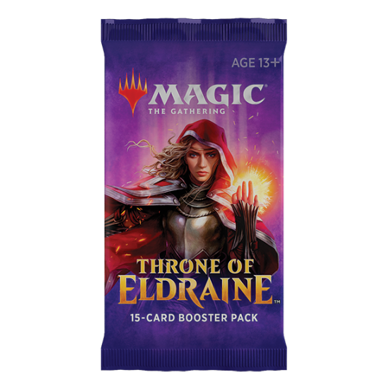 Magic: The Gathering Throne of Eldraine 15-Card Draft Booster Pack