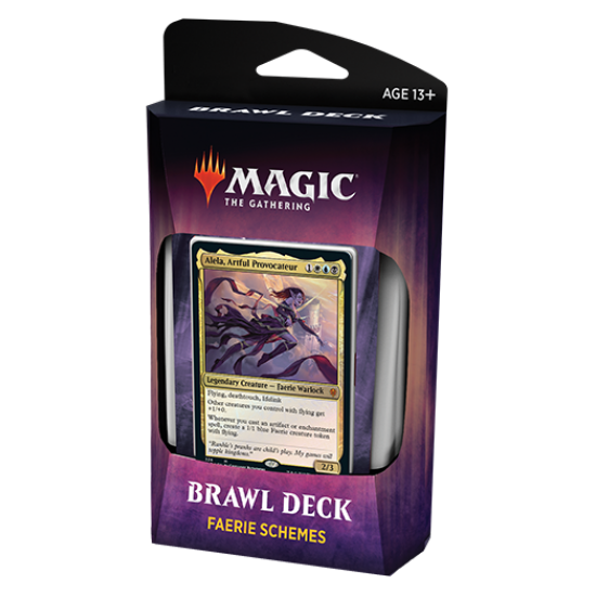 Magic: The Gathering Throne of Eldraine Brawl Deck - Faerie Schemes