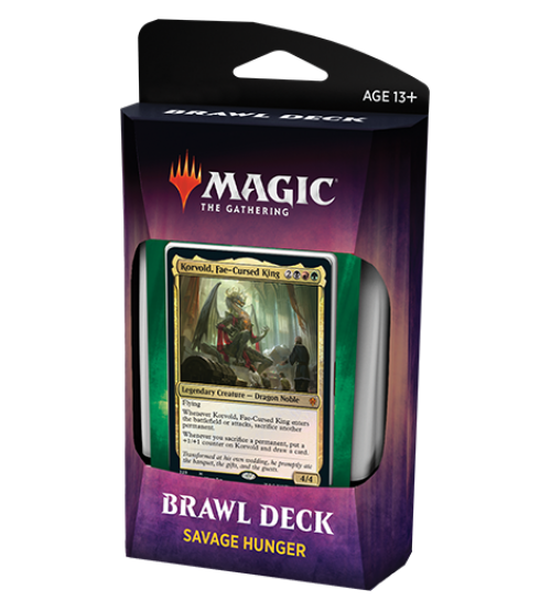 Magic: The Gathering Throne of Eldraine Brawl Deck - Savage Hunger