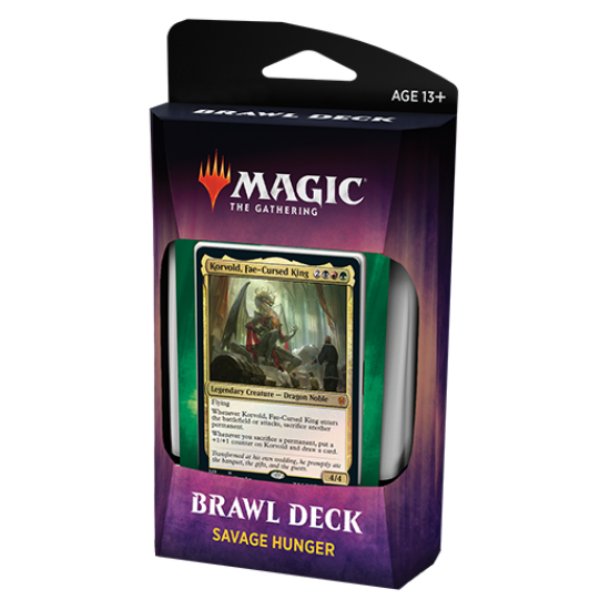 Magic: The Gathering Throne of Eldraine Brawl Deck - Savage Hunger