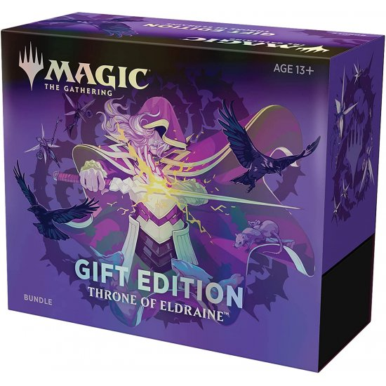 Magic: The Gathering Throne of Eldraine Bundle (Gift Edition)