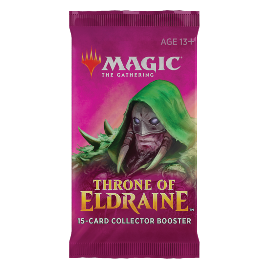 Magic: The Gathering Throne of Eldraine 15-Card Collector Booster Pack