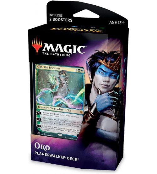 Magic: The Gathering Throne of Eldraine Planeswalker Deck - Oko