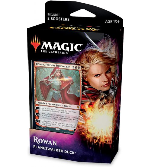 Magic: The Gathering Throne of Eldraine Planeswalker Deck - Rowan