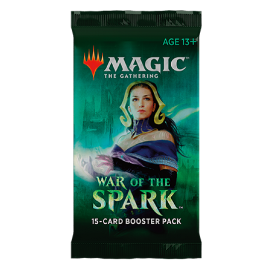 Magic: The Gathering War of the Spark 15-Card Booster Pack