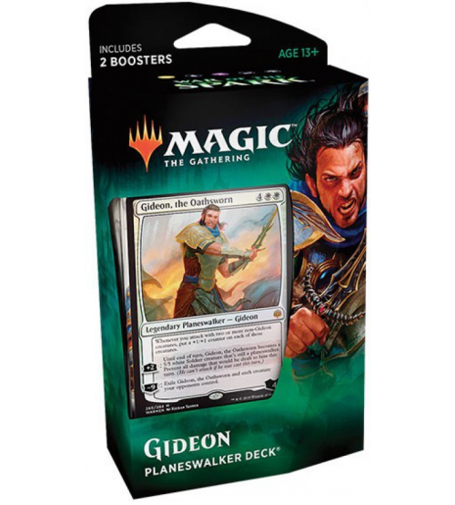 Magic: The Gathering War of the Spark Planeswalker Deck - Gideon