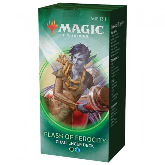 Magic: The Gathering Challenger Decks 2020 - Flash of Ferocity