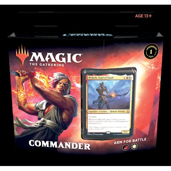 Magic: The Gathering Commander Legends Commander Deck - Arm for Battle