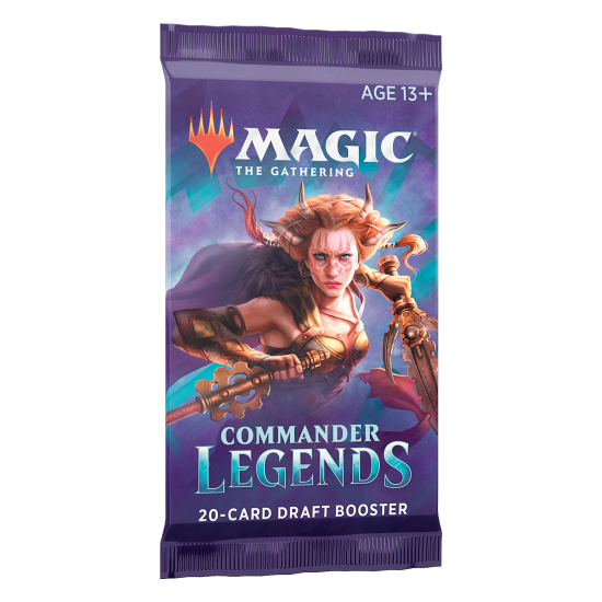 Magic: The Gathering Commander Legends 20-Card Draft Booster Pack