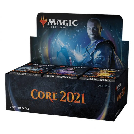 Magic: The Gathering 2021 Core Set Draft Booster Box, 36/Pack