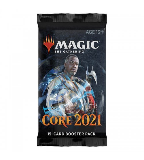 Magic: The Gathering 2021 Core Set 15-Card Draft Booster Pack