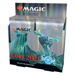 Magic: The Gathering 2021 Core Set Collector Booster Box, 12/Pack