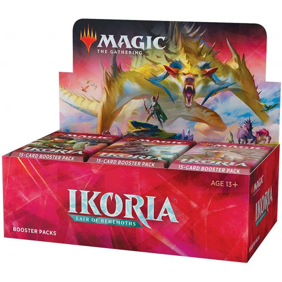 Magic: The Gathering Ikoria: Lair of Behemoths Draft Booster Box, 36/Pack