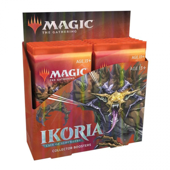 Magic: The Gathering Ikoria: Lair of Behemoths Collector Booster Box, 12/Pack