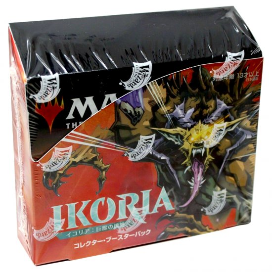 Magic: The Gathering Ikoria: Lair of Behemoths Collector Booster Box, 12/Pack (Japanese)