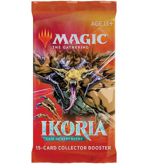 Magic: The Gathering Ikoria: Lair of Behemoths 15-Card Collector Booster Pack