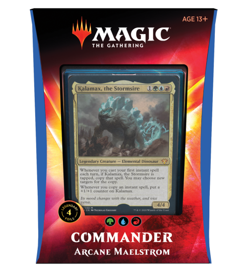 Magic: The Gathering Ikoria: Lair of Behemoths Commander 2020 Deck - Arcane Maelstrom