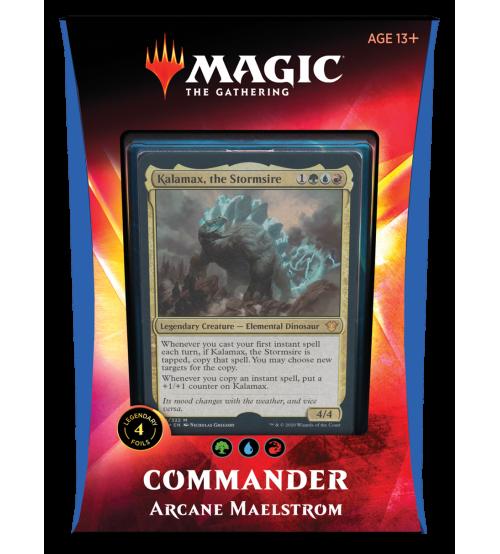 Magic: The Gathering Ikoria: Lair of Behemoths Commander 2020 Deck - Arcane Maelstrom