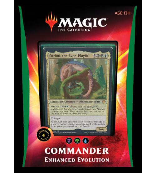 Magic: The Gathering Ikoria: Lair of Behemoths Commander 2020 Deck - Enhanced Evolution