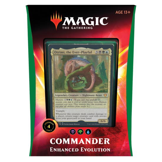 Magic: The Gathering Ikoria: Lair of Behemoths Commander 2020 Deck - Enhanced Evolution
