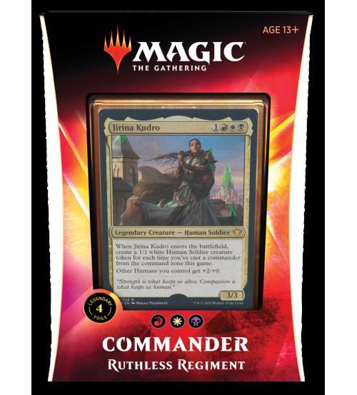 Magic: The Gathering Ikoria: Lair of Behemoths Commander 2020 Deck - Ruthless Regiment
