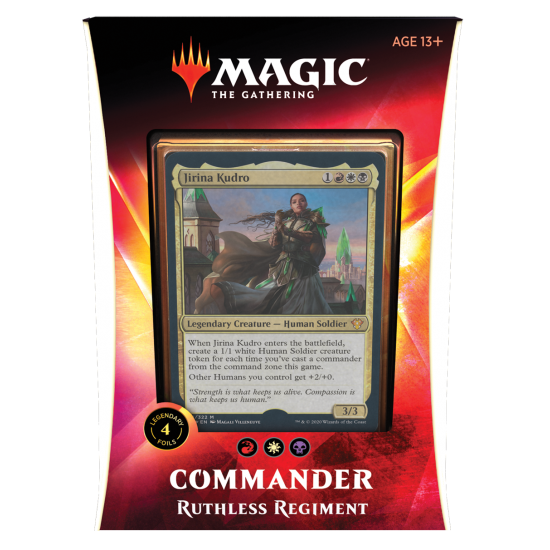 Magic: The Gathering Ikoria: Lair of Behemoths Commander 2020 Deck - Ruthless Regiment
