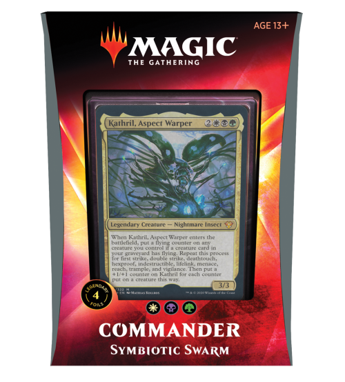 Magic: The Gathering Ikoria: Lair of Behemoths Commander 2020 Deck - Symbiotic Swarm