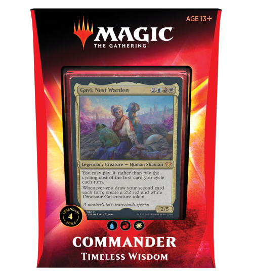 Magic: The Gathering Ikoria: Lair of Behemoths Commander 2020 Deck - Timeless Wisdom