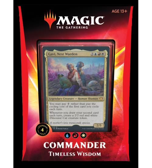 Magic: The Gathering Ikoria: Lair of Behemoths Commander 2020 Deck - Timeless Wisdom