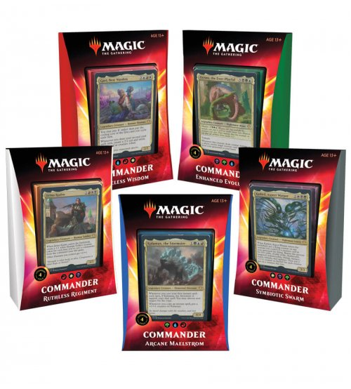 Magic: The Gathering Ikoria: Lair of Behemoths Commander 2020 Decks Set of 5